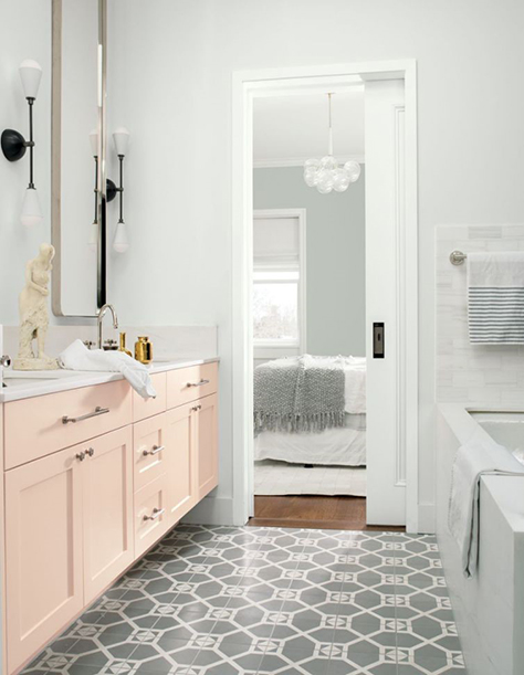 Benjamin Moore Color: Head Over Heels