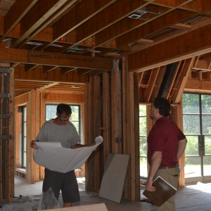 renovation project in Bedford, NY