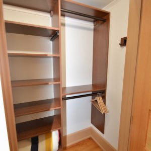 closet shelving build