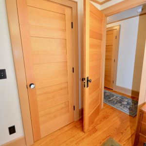 new oak door