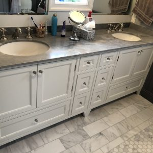 bradsell contracting bathroom cabinet painting