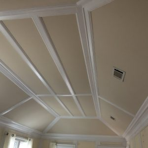 ceiling and trim painted