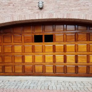 garage door staining by bradsell contracting