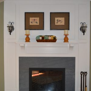 fireplace build by bradsell contracting